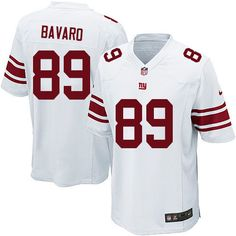 Nike Limited Mark Bavaro White Youth Jersey - New York Giants #89 NFL Road