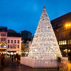 *벨기에 화이트 도자기 크리스마스 트리 [ Mooz ] Porcelain Christmas Tree :: 5osA: [오사]