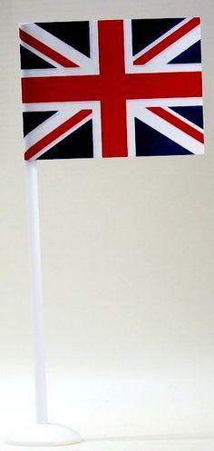 Petits drapeaux pour décorer la table