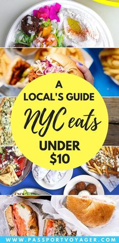 Is it possible to eat well in NYC on a budget? Yes! This insider guide to 20 of the best cheap places to eat in New York City for $10 or less will prove it. #TravelDestinationsUsaCheap
