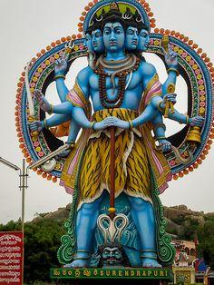 5 Faces Lord Shiva