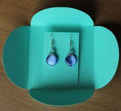 Tuto pour faire son propre emballage bijoux pour la vente de créations ou des… Plus