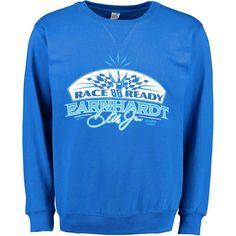Dale Earnhardt Jr. Crew Pullover Sweatshirt - Royal - $31.99