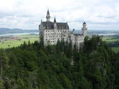 In Bavaria, the South of Germany, lies one of the most famous castles in the wo