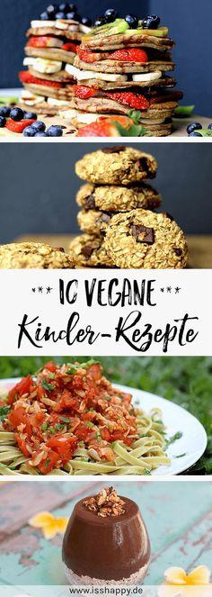 Vegan recipes for children 10 delicious inspirations for everyday life eat happy - Vegan Quinoa Recipes For Kids, Healthy Cookie Recipes, Healthy Cookies, Vegan Snacks, Vegan Recipes, Happy Vegan, Eat Happy, Vegan Baby, No Bake Treats