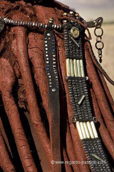 Africa   Himba details.  Nambia.    ©Benoit Feron
