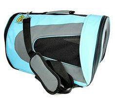Soft Sided Dog Carrier [Airline-Approved]- Pet Travel Portable Bag Home for Dogs, Cats and Puppies -- For more information, visit now : Products for dogs