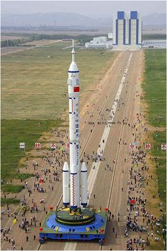 Chinese space rocket -