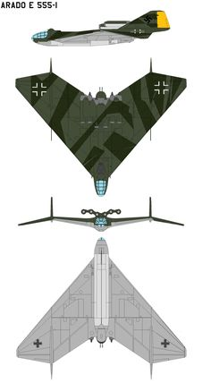 Arado E 555-1 by bagera3005 on DeviantArt