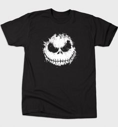 Nightmare T-Shirt - Jack Skellington T-Shirt is $12 today at Busted Tees!