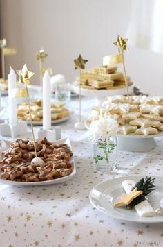 Die weihnachtliche Cookie-Sternchen-Party/ mit DIY Tipps und Rezepten