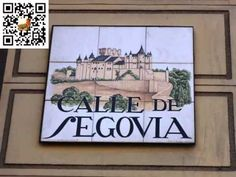 Foto Madrid, Around The Worlds, Plates, Painted Tiles, Mosaic Tiles, Mosaics, City Streets, Spain