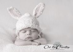 Bunny Hat and Diaper Cover SET Bunny Hat with by TheTinyToppers, $48.00