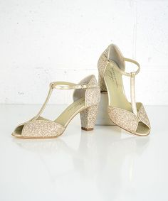 Anniel womens/leather-goods - Salome Glitter Heels   Canon Blanc - Tor