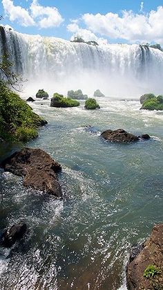 Waterfalls around the World - Iguazu Falls - Brazil