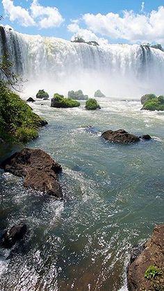 Waterfalls around the World - Iguazu Falls - Brazil