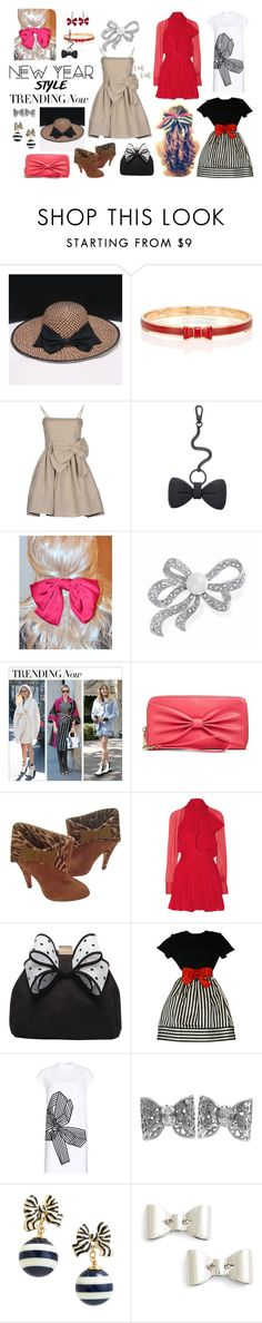 """""""Bows!"""" by najoli ❤ liked on Polyvore featuring RED Valentino, Marc by Marc Jacobs, Bling Jewelry, Mossimo Supply Co., Betsey Johnson, Miss KG, Bill Blass, STELLA McCARTNEY, Pasquale Bruni and Kate Spade"""