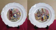 Wedgwood Bone China Pin Dish x 2 Cries of London series Hearts Designs