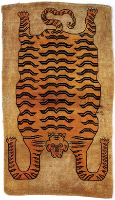 Tibetan Tiger Rug (giovanni garcia-fenech)    kThis post has 372 notes   tThis was posted 3 years ago  zThis has been tagged with giovanni garcia-fenech, Tibet,