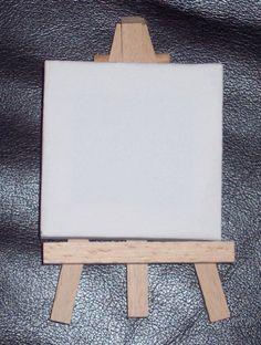 Mini chevalet de chevalet cadre décoratif avec 5 x 10 cm