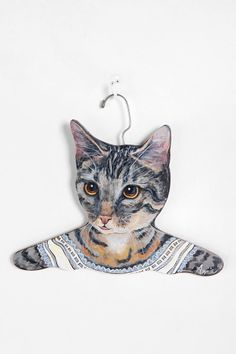 Animal Clothes Hanger and like OMG! get some yourself some pawtastic adorable cat apparel!