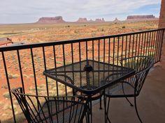 Goulding's Lodge & Campground - Monument Valley. L'hôtel à la vue géniale, sur Monument Valley. Un vrai coup de coeur.