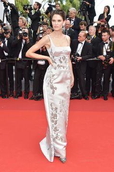 Bianca Balti -Cannes Film Festival 70th Anniversary Gala - HarpersBAZAAR.com