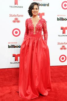 Carmen Domicci attends the 2014 Billboard Latin Music Awards