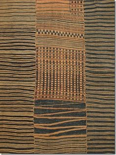 Sierra Leone Country Cloth #African #globalstyle #globaltextile