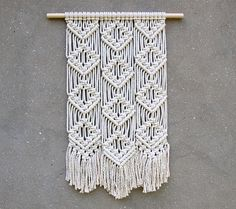 Macrame wall hanging Woven tapestry Boho wall decor