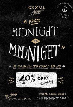 Black Friday sale at CXXVI! 40% off, so go shopping!