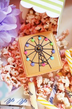 Birthday Party Ideas - Blog - PRETTY IN PINK CARNIVAL ~ COUNTY FAIR ~ AMUSEMENT PARK BIRTHDAY PARTY IDEAS