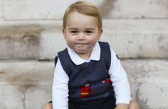 Santa's not the only one with rosy cheeks this holiday season.    Prince William and Duchess Kate released three new adorable photos of their son ...