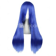 Cosplay Wigs Fairy Tail Mayoi Hachikuji Blue Medium Anime Cosplay Wigs 70 CM Heat Resistant Fiber Male / Female - USD $16.79 ! HOT Product! A hot product at an incredible low price is now on sale! Come check it out along with other items like this. Get great discounts, earn Rewards and much more each time you shop with us!