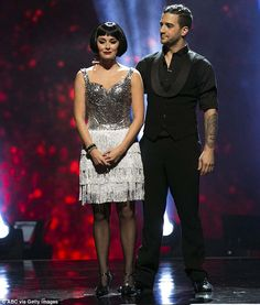 Poised: Alexa, who received two perfect scores on Monday night, told the hosts she was pleased to have gone out on a high