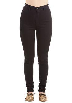 Gotta jet-set jeans in black $60