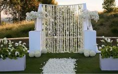 A stunning backdrop for your wedding ceremony