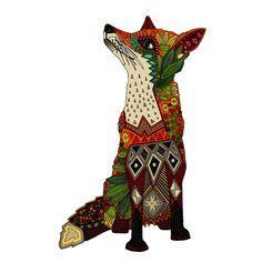 fox love white swatch fabric by scrummy on Spoonflower - custom fabric