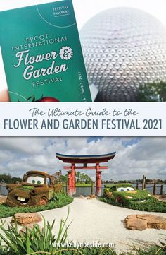 The Ultimate Guide to Epcot's International Flower and Garden Festival 2021. Everything you need to know from food booths, special activities, and more!