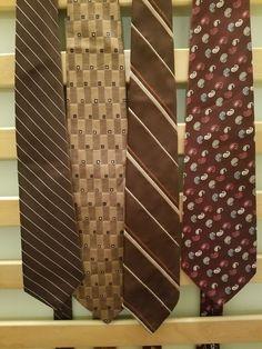 Vintage Men's Neckties Lot (4) #NeckTie #Business