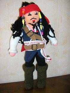 Le pirate des caraïbes Jack Sparrow by charlineB94, via Flickr