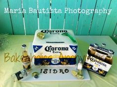 Corona Beer Cake By twilightzonejude on CakeCentral.com