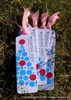 Christmas bookmarks!