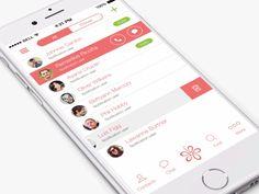 Chat iPhone App Design