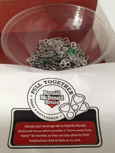 We're collecting Pop Tabs! Rakuten LinkShare is Pulling Together to Make a Difference for the Ronald McDonald House