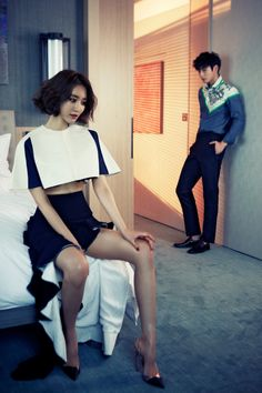 2AM Jin Woon and Go Joon Hee - Marie Claire Magazine June Issue '13