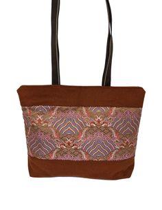 NORBOO   Nyima Tote Bag - Light Brown