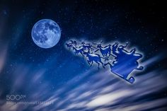 Full moon Christmas by yamaely