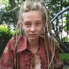 White Girl Dreads, White Girls, Dreadlocks, Hair Styles, Beauty, Instagram, Hair Plait Styles, Hair Looks, Haircut Styles