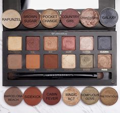 Makeup Geek dupes for ABH Master Palette by Mario